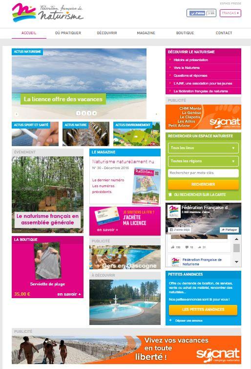 site wordpress FFN par Bigfoot - home