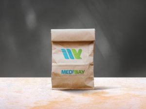 Bigfoot conçoit le nom et le logo et la charte graphique de l' nouvelle entité B2B OCP : Mediway