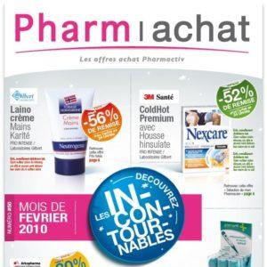 Un catalogue BtoB pour valoriser les offres promotionnelles Pharmactiv. COnception Bigfoot